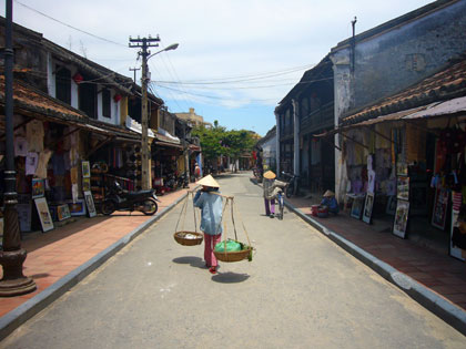 Lovely Hoi An - a great place to soak up Vietnamese history.