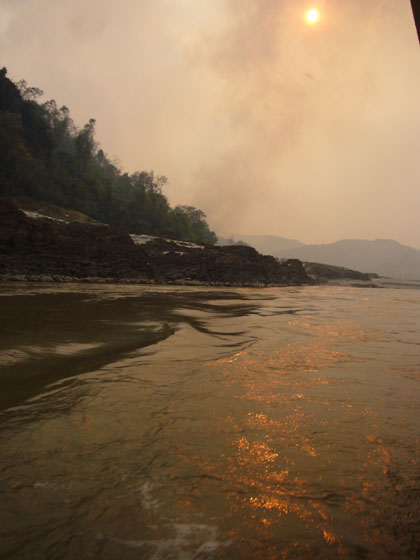 A smoky but beautiful trip down the majestic Mekong